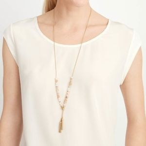 Stella & Dot Anda Intention Necklace